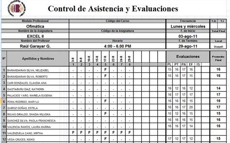 manejo de calificaciones inotas registros y evaluaciones raul garayar