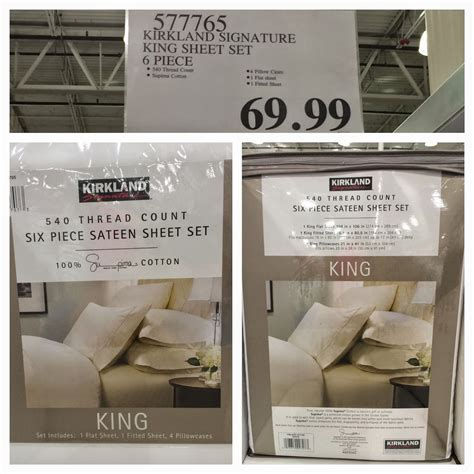 costco bed sheets the costco connoisseur kirkland signature by costco is