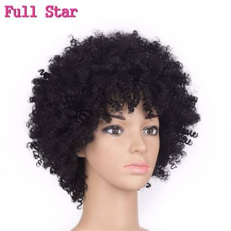 Wig Axela Curly 3 aliexpress buy 6 quot 120g afro curly wigs synthetic black wig