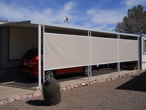 Carport Blinds carport and rv covers m m home supply warehouse
