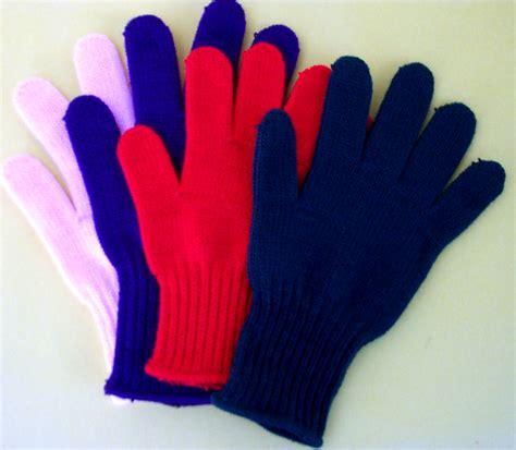 187 100 acrylic fiber glove