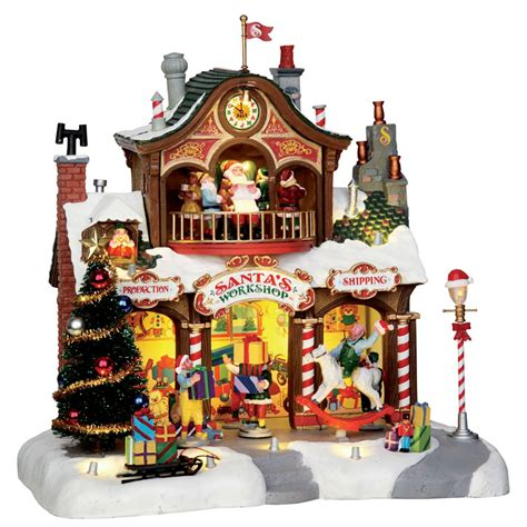 lemax santa s workshop sights sounds table piece