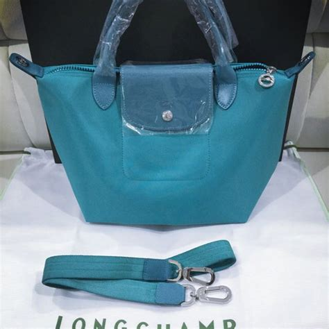 Longch Neo Size Large Authentinc Brand New And Authentic Longch Le Pliage Neo Turquoise