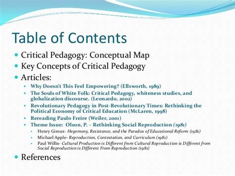 mclaren critical pedagogy critical pedagogy presentation