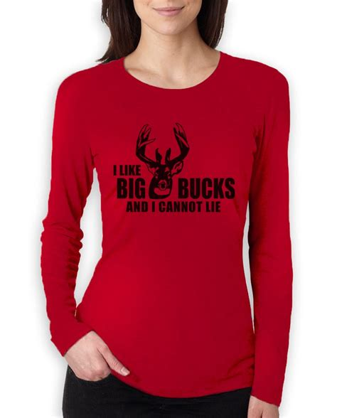 Tshirt A Gun Like A Sx i like big bucks sleeve t shirt deer gun just shoot it ebay