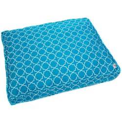 blue dog bed blue lattice diy dog duvet by molly mutt dog beds for