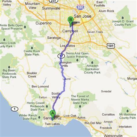 san jose monterey map san jose to santa shuttle f f info 2017
