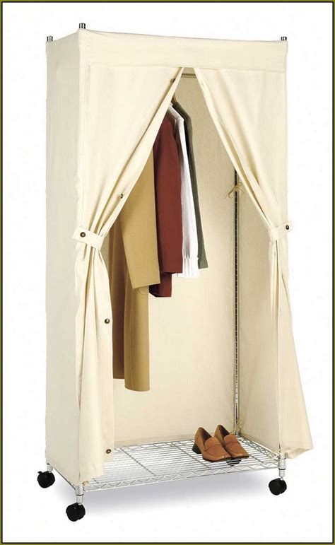 Closet On Wheels by Portable Storage Closet With Wheels Home Design Ideas