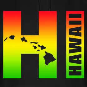 hawaiian island colors hawaiian islands hi surfer rasta colors robotface t shirts