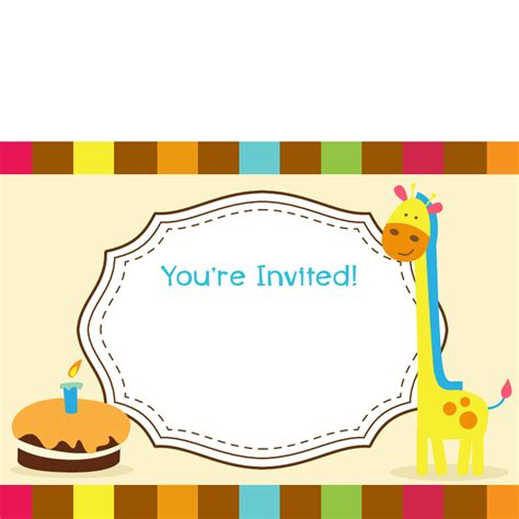 Blank Birthday Invitations Bagvania Invitations Ideas Blank Birthday Invitation Template