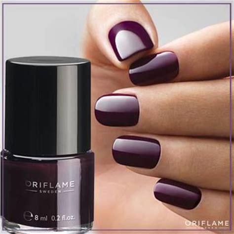 plum nail color oriflame colour nail plum purple