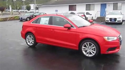 Audi A3 Rot by 2015 Audi A3 Brilliant Stock 110142 Walk Around