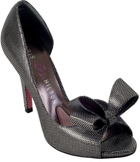 Name Hiltons Pumps by Ribbon Shoes By
