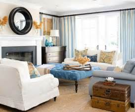 Orange Chair Slipcover Inspirations On The Horizon Beautiful Coastal Living Rooms