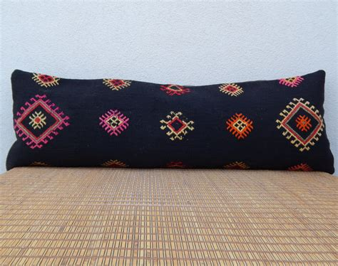 16 x 48 black bohemian bedding kilim pillow cover long bed pillow king beddi pillows 16 x 48 black bohemian bedding kilim pillow cover long