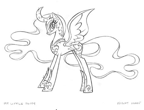 my little pony coloring pages nightmare moon free coloring pages of my little pony nightmare moon
