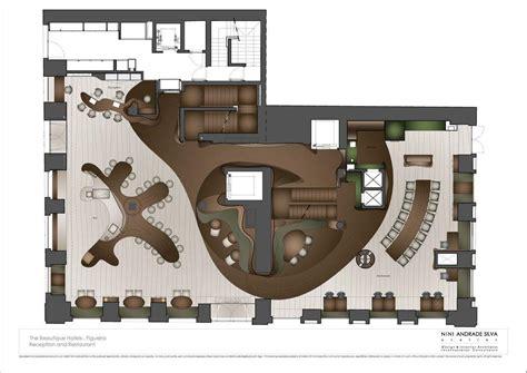 hotel reception design layout aeccafe archshowcase