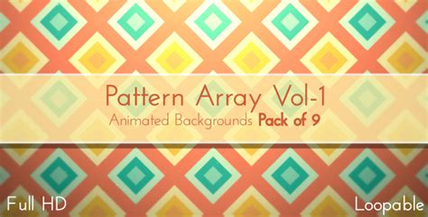 color pattern transitions by gui esp videohive pattern array vol 1 by crew55 videohive