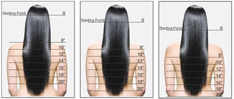 how long is a 14 inch for hair thick clip in hair extensions