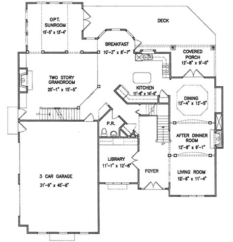 master up floor plans master up with private study 15848ge architectural