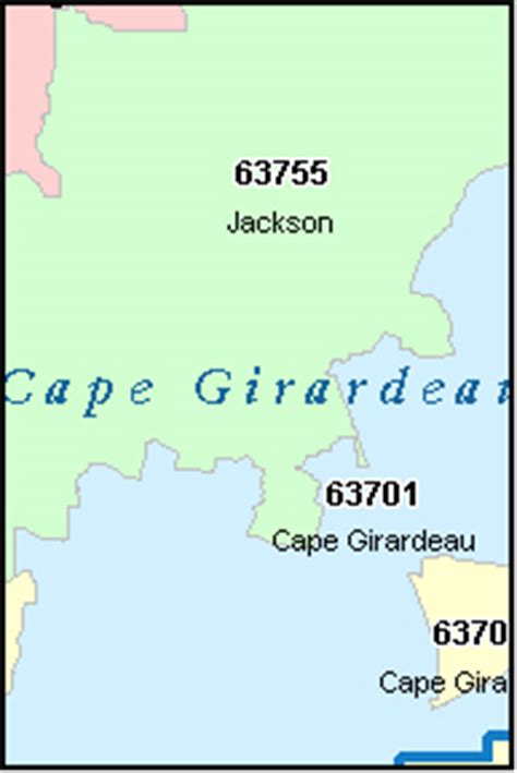 area code cape cod cape girardeau county missouri digital zip code map