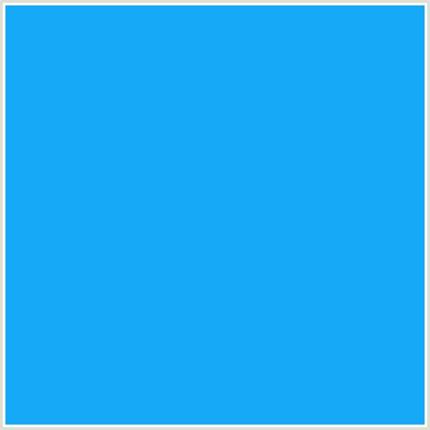 dodger blue 16a9f7 hex color rgb 22 169 247 blue dodger blue