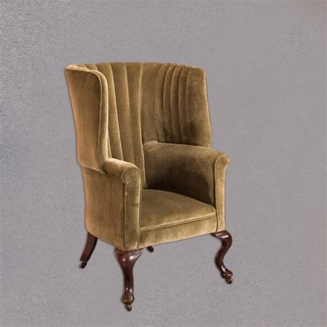antique victorian armchair victorian antique armchair scottish fireside wing