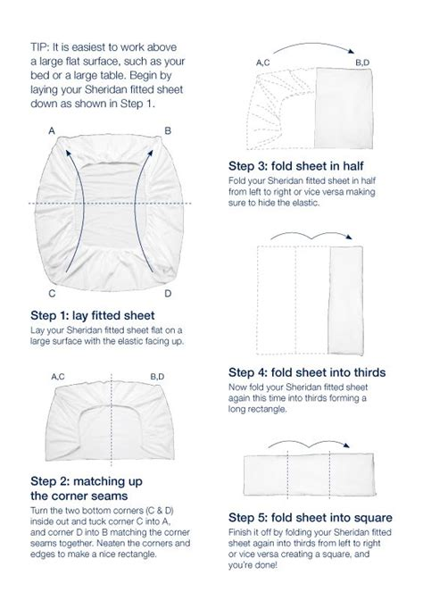 how to fold a fitted sheet my style pinterest