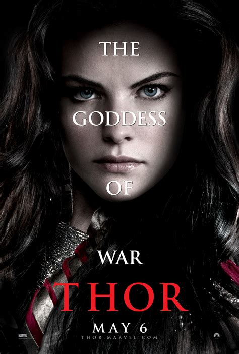 thor movie lady sif jaimie alexander interview thor collider