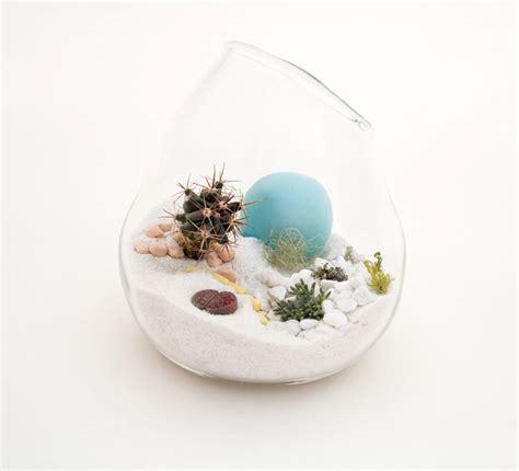 hand blown glass mini terrariums by l 237 till digsdigs