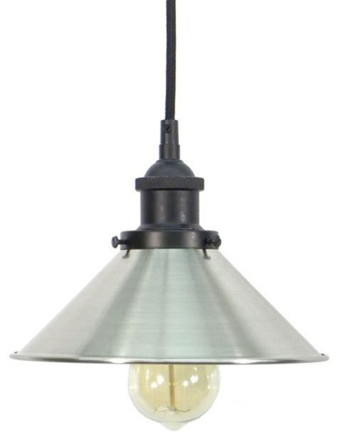 black nickel shade pendant light farmhouse ceiling