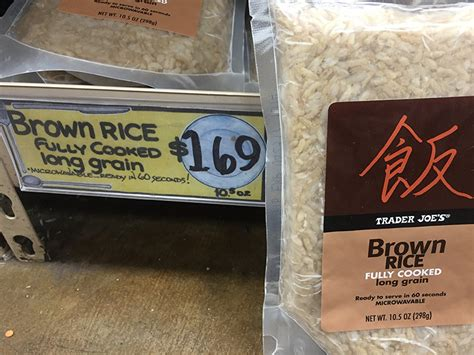 Brown Rice Shelf by Brown Rice Pre Cooked Shelf Stable Tj Foodie Bars