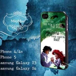Ariel The Mermaid V1437 Iphone 4 4s 5 5s5c 6 6s 6 P small quotes about the galaxy quotesgram