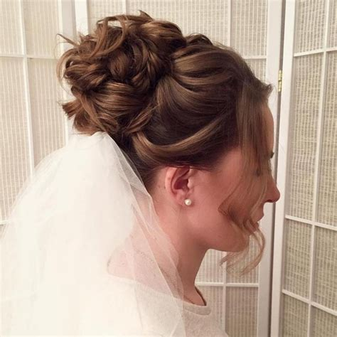 con velo peinados de novia con velo tgusta es