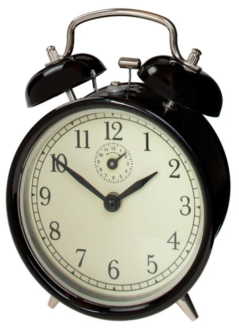 fox and stainless steel oakdale mechanical alarm clock