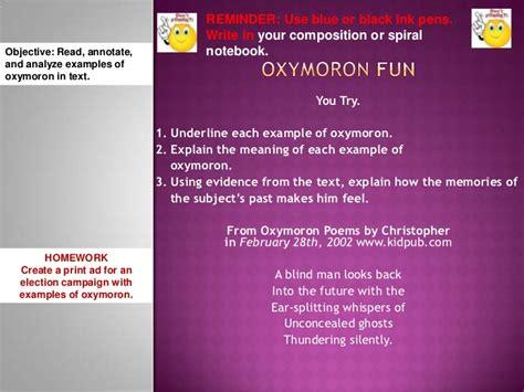 oxymoron fun