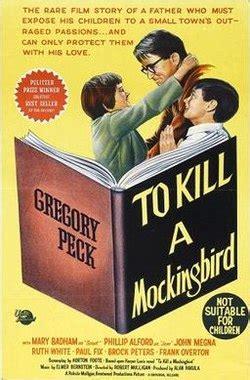 themes to kill a mockingbird movie to kill a mockingbird film wikipedia