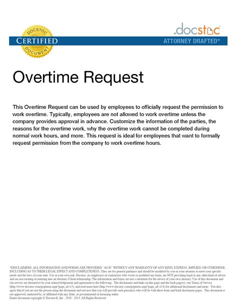 Request Letter Sle For Overtime Other Template Category Page 1062 Sawyoo