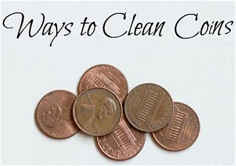 how to clean pennies 28 images acids that clean pennies six ways to clean a penny a