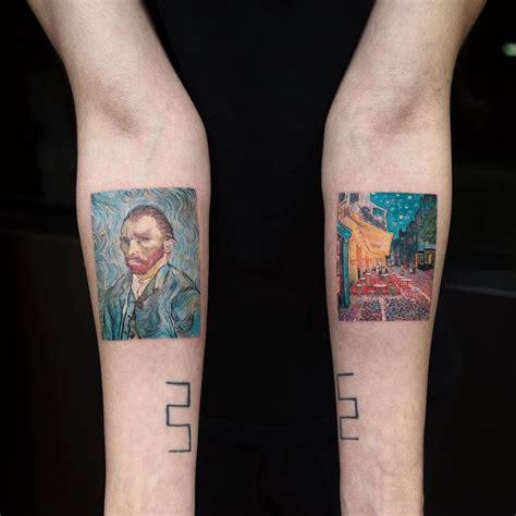 ed sheeran van gogh tattoo the 25 best van gogh tattoo ideas on pinterest starry