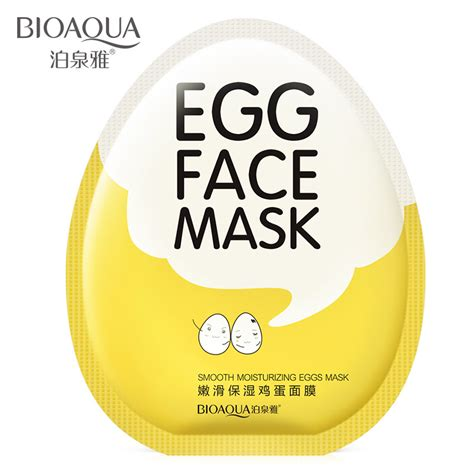 Egg Mask Bioaqua bioaqua egg serum whitening mask anti aging