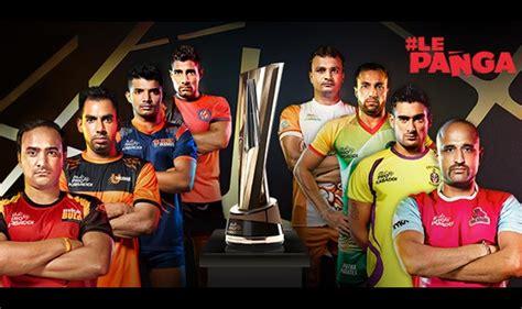 pro kabhdhi pleyr hair styles pro kabaddi league season 4 top ranked service players