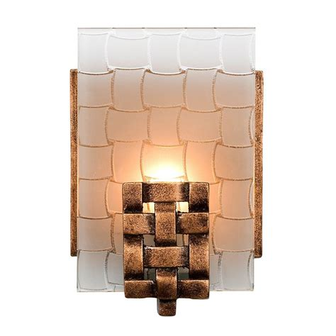 copper bathroom lighting shop varaluz 1 light dreamweaver blackened copper bathroom vanity light at lowes com