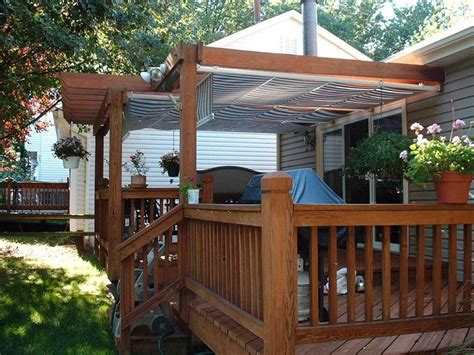building a awning over a deck how to build deck awning doherty house