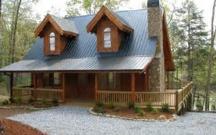 mountain lakefront log cabins homes for sale