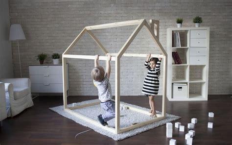 chambre enfant lit cabane fabriquer un lit cabane pour les petits loulous
