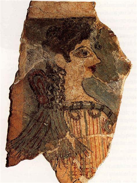 la parisina gua de la parisina palacio de cnosos fresco encontrado en la zona residencial minoico