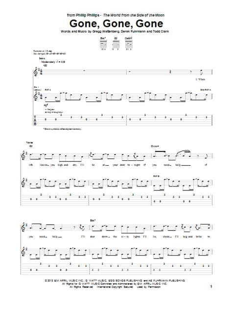 by phillip phillips guitar tab guitar