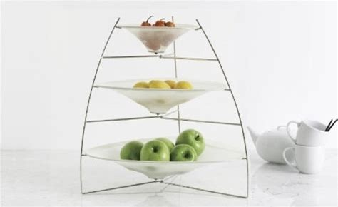 modern fruit holder chilewich ray tray white modern serveware by amazon