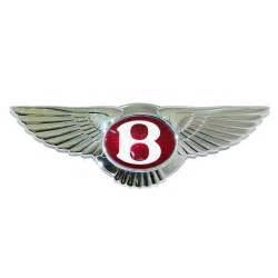 Bentley Wings Logo Winged Bentley Grille Badge From 2005 My On Ps111961pau